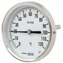 Thermomètre bimétallique à cadran tout inox A52