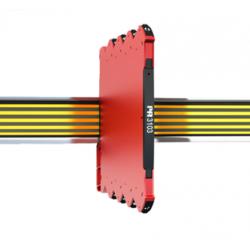 Convertisseur 4-20 mA, isolé mA/V, montage rail DIN, configurable, alimentation 24Vcc