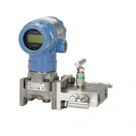 Transmetteur de pression différentielle 2051CD avec manifold 304