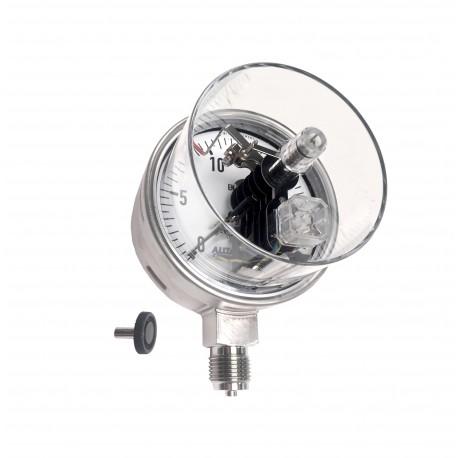 Manomètre tout inox à contacts électriques modulaires 232.50 KOMBI M