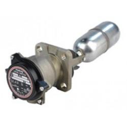 Contacteur magnétique de niveau à flotteur parties immergées en bronze aluminium