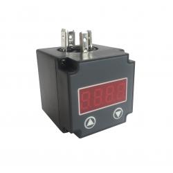 Afficheur 4-20mA à LED, montage connecteur DIN, alimentation par boucle de courant