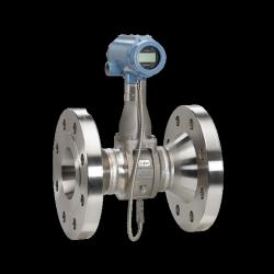 Débitmètre vortex pour mesure de débit volumique de liquide, gaz et vapeur haute performance