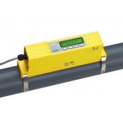 Débitmètre à ultrasons sans contact avec le fluide, à fixer sur tuyauterie