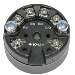 Transmetteur entrée température interface IO-Link montage tête de sonde