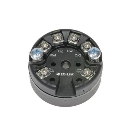 Transmetteur entrée température interface io-link montage tête de sonde alimentation par boucle de courant