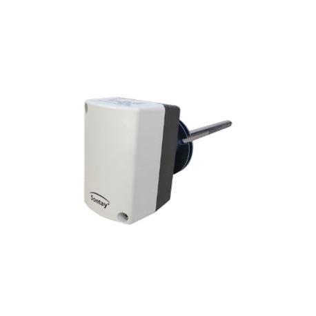Thermostat mécanique montage gaine application génie climatique