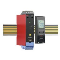 Convertisseur pour relais a seuil, montage rail din, configurable, pour zone atex S.I [EX ia]